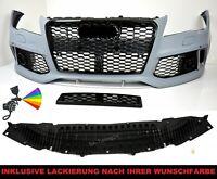 Pour Audi A7 4G RS7 Look De Pare-Chocs 11-14 Calandre Nid D'Abeille