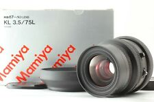 【Exc+++++ in Box】 Mamiya K/L KL 75mm f3.5 L For RB67 Pro S SD RZ67 From JAPAN