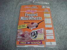 1994 Frosted Mini Wheats Cereal Box w/New York Yankees Reggie Jackson
