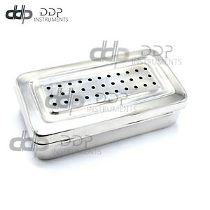 New Instruments BOX Perforated Stainless Steel 20x10x5cm Surgical Instruments