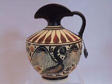 "arb23 ANCIENT GREEK MUSEUM REPRODUCTION CORINTH EWER 430 BC 4 3/8"" lion motif"