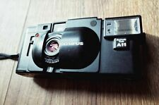 Olympus XA 35mm Film Rangefinder Camera With Flash. New Seals and Batteries.