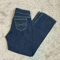 Riders By Lee 1148 Womens 8P Petite Blue Jeans Medium Wash Straight Leg Bootcut