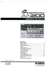 Yamaha Service Manual für AN - 200 Copy