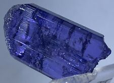 TANSANIT Kristall (4,9 gr. ) Tanzanit gebrannt / Tanzanite Crystal heated