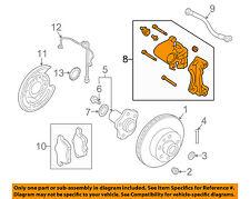 NISSAN OEM Rear-Brake Disc Caliper 44001EG50A