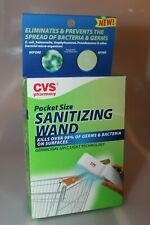CVS POCKET SIZE SANITIZING WAND KILLS OVER 99% OF GERMS & BACTERIA Germicidal
