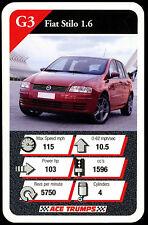 Fiat Stilo 1.6 - Cars Series 2 - Top Trumps Card (C352)