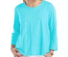 FRESH PRODUCE One Size LUNA Blue JETTY Scoop 3/4 Pocket Top NWT New O/S
