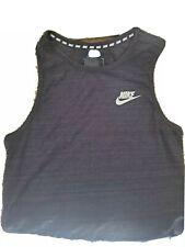 Men's Nike Breathe Standard Fit Cotton Polyester Running Tank Top