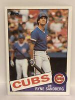 1985 Topps Ryne Sandburg baseball card Chicago Cubs NrMt-mint #460 MLB HOF Ryan