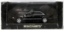 Véhicules miniatures noirs MINICHAMPS pour Audi