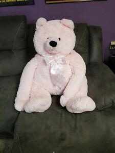 Plush Jumbo Pink Teddy Bear Stuffed