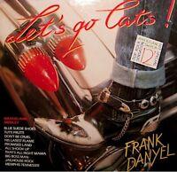 ++FRANK DANYEL let's go cats/graceland medley MAXI  PROMO 1989 VG++