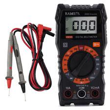 Kaiweets Digital Multimeter Ohm Volt Amp Diode Ac Dc Voltage Tester Meterkm100