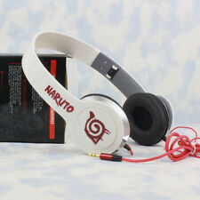 Anime Naruto Konoha Deep Bass Headband Headphone MP3 Phone PC Sport Headset