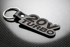 Fiat Coupe 20V Turbo Leder Schlüsselanhänger Schlüsselring Porte-Clés 20 Ventil