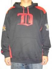 NWT Majestic Detroit Red Wings Hat Trick Vintage Hockey Men's Pullover Hoodie
