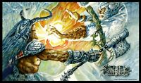 Arcane Denial Playmat Richard Kane Ferguson MTG Flipside Exclusive