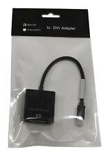 Compeve mini DP Thunderbolt to DVI Adapter Cable Converter Black 562600100402