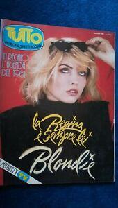 Tutto Musica 1 1981 Kate Bush David Bowie Enzo Avallone Vanoni Banco Blondie