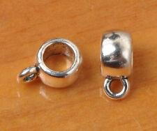 100pcs Tibetan Silver Beautiful Big Bail Connectors bails Findings 7.5mm
