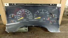 CHEVY S10 BLAZER INSTRUMENT GAUGE CLUSTER W/TACH AUTO OEM 1996,1997