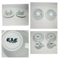 Cac China cappuccino Espresso cup and saucer