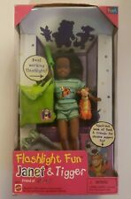 Flashlight Fun Janet and Tigger (Friend of Stacie, Sister of Barbie)(New)