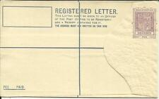 Mauritius Registered Postal Envelope HG:C8 unused