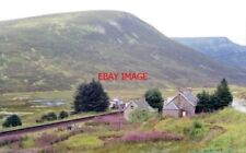 PHOTO  1991 DALNASPIDAL RAILWAY STATION (REMAINS) PERTH - INVERNESS LINE VIEW NW