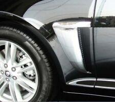 Jaguar XF XFR Fender Chrome Trim Overlay Finisher Set 2012 2013 2014 2015