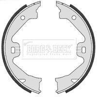 Borg & Beck Brake Shoe Set Handbrake Shoes BBS6331 - GENUINE - 5 YEAR WARRANTY