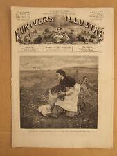 L'UNIVERS ILLUSTRE 5 JUILLET 1879 N° 1267 SALON DE 1879. GUERRE CONTRE ZOULOUS