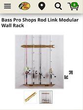 Bass Pro Shops Rod Link Fishing Rod Rack Wall Mount NIB