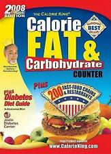CalorieKing Calorie, Fat & Carbohydrate Counter (Calorie King)-ExLibrary