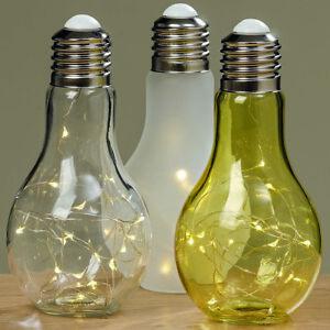 Kabellose LED Lampe Tischlampe Leuchte Batterie betrieben Stimmungslampe Licht