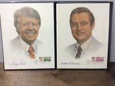 Jimmie Carter & Walter Mondale INAUGURATION DAY FIRST DAY STAMP COVER 1977