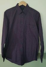 Mens Pull And Bear Chequered Shirt Size Large
