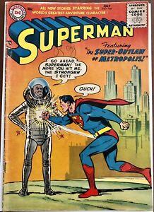 Superman #106 (VG-) Lex Luthor Armor