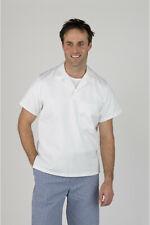 "More details for white short sleeved bakers top / shirt – 76cm (30"")"