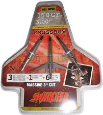"Swhacker Mechanical Broadhead 150gr 3"" in Cut Crossbow/Xbow 2 blade - SWH00251"
