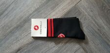 New Black & Red Cycling Socks Size 7-13