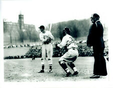 1939 TED WILLIAMS BOSTON RED SOX HOLY CROSS 8X10 PHOTO 1ST AT BAT FITTON FIELD
