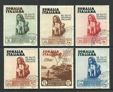 SOMALIA - 1934 Issues to 1.25 LIRE *CTO NO GUM* (CV £130)