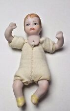 Dollhouse Miniature Crying Baby Doll