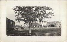 Sugar Mill Near Guantanamo City Cuba c1910 Real Photo Postcard