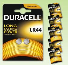 Batterie Pile DURACELL, LR44, V13GA, A76, Batteria per orologio calcolatrice
