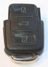 VW Golf MK4 GTI 20V TDI 3 BUTTON IGNITION FLIP KEY FOB REMOTE 1J0 959 753 DA