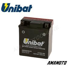 BATTERIA UNIBAT CTZ8V-BS = YTZ8V-BS YAMAHA X MAX ABS 125-300 2017 2018 2019